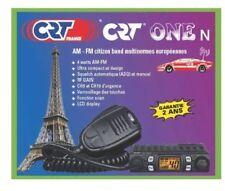 CRT ONE N Multistandard AM FM - world's smallest CB Radio micro mini compact UK
