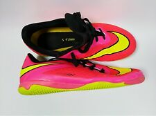 Nike Jr Hypervenom Phelon Ic Vibrant Pink/Yellow shoes 599811 690 Boys/Girls 4Y