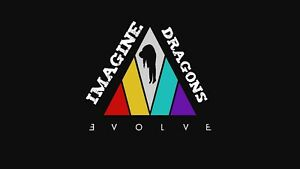 "Reproduction ""Imagine Dragons, Evolve""  Poster"