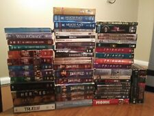 Lot of 50 Tv Dvd Series Mixed Smallville friends 90210 One Tree Hill monk Tru bl