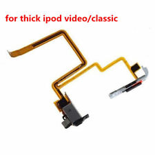 Audio Headphone Jack & Hold Switch for iPod Video 5th 5.5th 60GB 80GB THICK