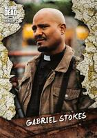 Walking Dead Season 8 Part 1 CHARACTER Insert Card C-20 / GABRIEL STOKES