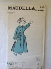 Maudella Vintage Female Sewing Patterns
