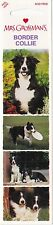 Mrs. Grossman's Top Dog Stickers - Border Collie - 4 Stickers - 1 Strip