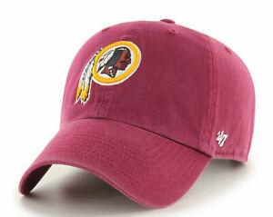 WASHINGTON REDSKINS NFL FOOTBALL CLEAN UP STRAPBACK DAD HAT CAP NEW RETIRED LOGO