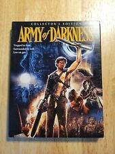 Army of Darkness Scream Factory Blu-ray Disc w/SLIPCOVER OOP 3 Disc evil dead
