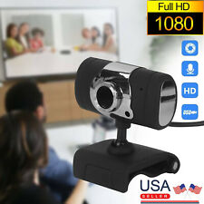 USA Webcam Auto Focusing Web Camera HD Cam Microphone For PC Laptop Desktop