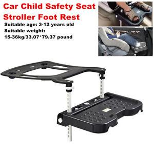 Car Child Baby Kid Safety Seat Stroller Footrest Fasten Support Pedal Adjustable