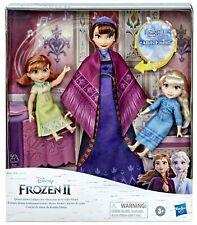 Disney's Frozen 2 QUEEN IDUNA LULLABY SET w Elsa and Anna Dolls E8558 NIB/Sealed