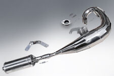LAMBRETTA TS1 EXPANSION PIPE UPGRADED EXHAUST IN POLISHED STAINLESS STEEL