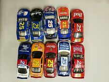 NASCAR DIECAST 1:64 CAR #25 SOLD AS A SET