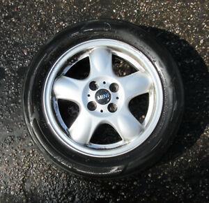 """Genuine MINI 15"""" 5-Start Spooler R100 Alloy Wheel for R50 R53 R56 - 6768498 #G"""