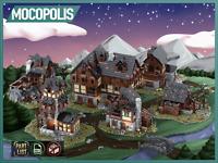 LEGO MOC Medieval Village | PDF instructions (NO PARTS)