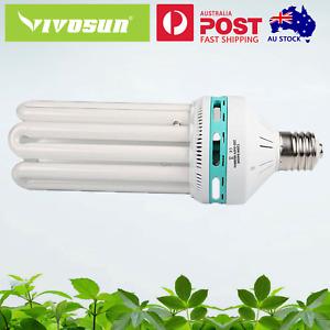 VIVOSUN 125W Cool White CFL Grow Light Bulb Compact Fluorescent Lamp 6400K AU