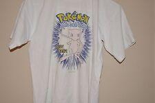 Pokemon Mew Shirt T-Shirt Official Licensed 1999 Nintendo Vintage 90s XS-child L