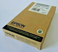 Genuine Epson T6039 Light Light Black Ink Cartridge for 7800 9800 7880 9880 (UK)