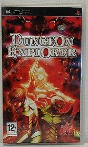 DUNGEON EXPLORER with booklet, case and disc Sony PSP Playstation