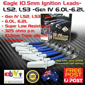 EAGLE 10.5mm Ignition Spark Plug Set fits Holden VE VF LS2 LS3 Gen IV 06-17