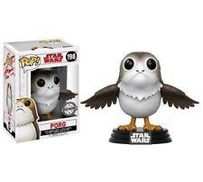Star Wars VIII Porg Pop! Open Alas Figura 9CM Funko