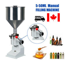 A03 Manual Filling Machine 5-50ml Liquid Paste Shampoo lube Oil Bottler Filler