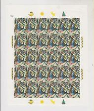 BOSNIA,CROATIAN POST ,1999,CHRISTMAS,imperforated sheet,MNH