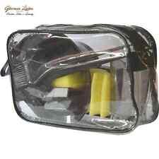 Professional Black Hair Tinting Set & Carry Bag Hairdressing Salon / Home