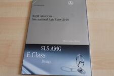 103028) Mercedes - SLS AMG E-Klasse Cabrio - Detroit - Pressemappe 01/2010