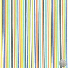 Michael Miller Slender Stripe On Flannel Periwinkle Fabric By The Yard