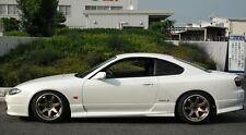 NISSAN S15 200SX SILVIA AERO JDM 2 PIECE SIDE SKIRTS BODY KIT JSAI AERO