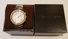 Michael Kors Stainless Steel & Gold Plated Parker Chronograph Watch MK5626
