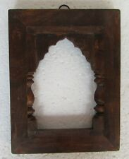 Vintage Old Hand carved Wooden Picture photo Frame