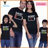 Mutter und Tochter Vater, Sohn, Familie Eltern-Kind-T-Shirt passende Outfits