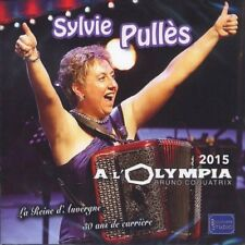 ♫ - SYLVIE PULLÈS - À L'OLYMPIA 2015 - 12 TITRES - NEUF NEW NEU - ♫