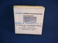 Technics Keyboards KN5000/KN6000/KN7000 und kompatible - 120 Sounds/Disk Vol.2!