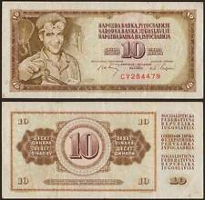 YUGOSLAVIA/JUGOSLAVIA 10 DINARA 1/5/1968
