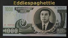 Korea North 1000 Won 2002 UNC P-45a