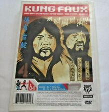 Kung Faux - Volume 4 (DVD, 2006) Hip Hop Kung Fu Tommy Boy Comedy