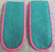 WWII GERMAN HEER ARMY M36 M1936 TUNIC SHOULDER BOARDS-ARTILLERY