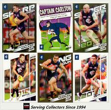 2012 Herald Sun AFL Trading Cards Base Card Team Set Carlton(12)