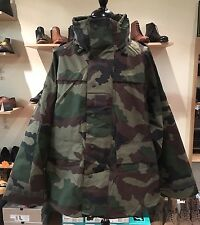 French Army Issue Gore-Tex Style Waterproof CCE Woodland Camo Jacket 120L  2XL