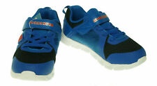 Skechers Boy's Comfy Flex Hyper Stride Athletic Sneakers Black Blue Size 12