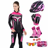 Long Sleeve Women Cycling Clothing Bike Riding Suit Breathable Bicycle Clothes