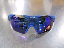 Bolle 12076 6TH Sense Sunglasses Matte Navy Frame Blue Violet Lens NEW