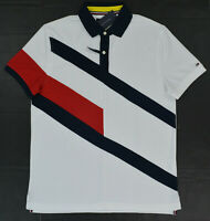 NWT Men's Tommy Hilfiger Short-Sleeve Wicking Performance Pique Polo Shirt XXL