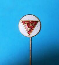 Federação Mineira de Futebol  Brazil football soccer old enamel pin badge Brasil