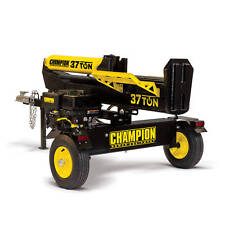 100330D - 37-Ton Champion Horizontal/Vertical Full Beam Log Splitter, scratched