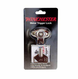 WINCHESTER GUN LOCK Single Pack All Metal Trigger Lock NWT