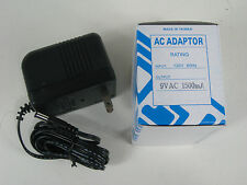 9 Volt 1500mA 1.5A AC adapter Power Supply Alesis Micron DM5 DM10 D4 Akai Miniak