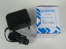 9 Volt 1500mA 1.5A AC adapter Power Supply Alesis Micron DM5 DM10 D4 Akai Miniak