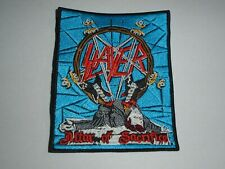 SLAYER ALTAR OF SACRIFICE EMBROIDERED PATCH